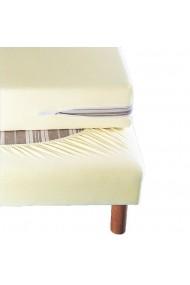 Protectie saltea La Redoute Interieurs GBY161 80x190 cm alb