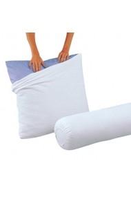 Protectie perna La Redoute Interieurs GCQ338 63x63 cm alb