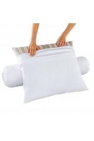 Protectie perna La Redoute Interieurs GCQ527 65x65 cm alb