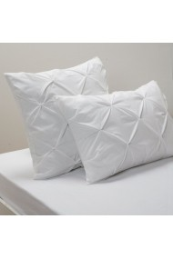 Fata de perna La Redoute Interieurs CZY528 63x63 cm alb