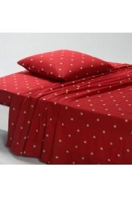 Cearsaf La Redoute Interieurs AGS003 270x290 cm rosu