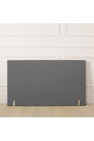 Husa tablia de pat La Redoute Interieurs AKD793 140x85 cm gri