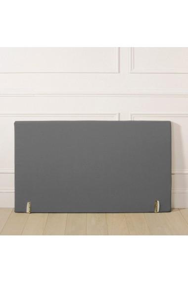 Husa tablia de pat La Redoute Interieurs AKD793 90x85 cm gri