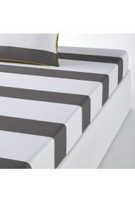 Cearsaf La Redoute Interieurs AKV609 180x200 cm gri