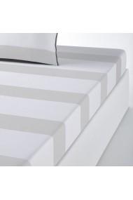 Cearsaf La Redoute Interieurs AKV609 160x200 cm gri