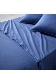 Cearsaf La Redoute Interieurs CGN527 240x290 cm albastru