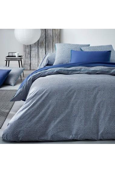 Cearsaf La Redoute Interieurs CGN527 180x290 cm albastru