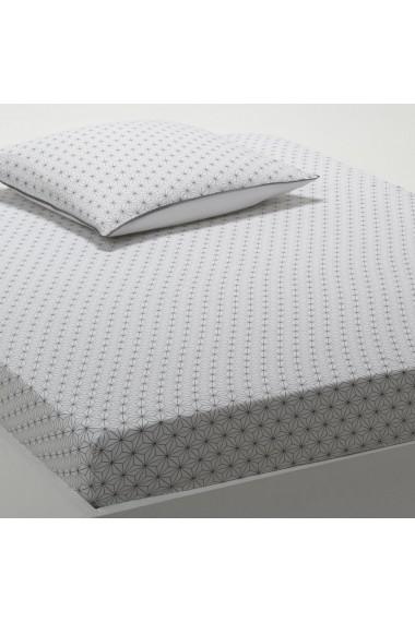 Cearsaf La Redoute Interieurs DLV991 90x190 cm alb