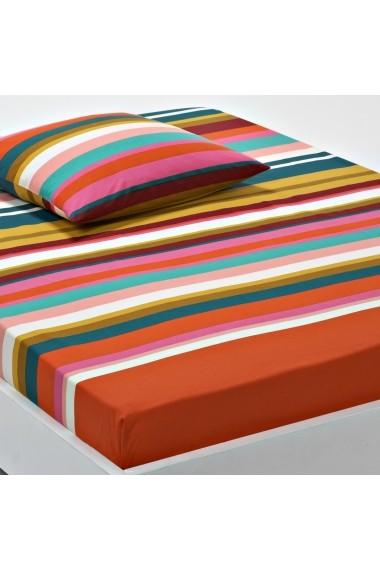 Cearsaf La Redoute Interieurs GAP371 180x200 cm multicolor