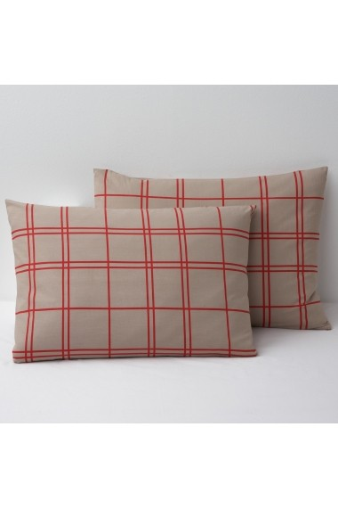 Fata de perna La Redoute Interieurs GBJ157 50x70 cm rosu