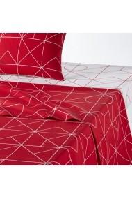 Cearsaf La Redoute Interieurs GBJ269 270x290 cm rosu