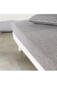Cearsaf La Redoute Interieurs GBK594 160x200 cm alb