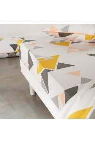 Cearsaf La Redoute Interieurs GBS990 160x200 cm galben