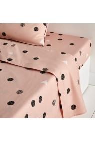 Cearsaf La Redoute Interieurs GBX248 240x290 cm roz