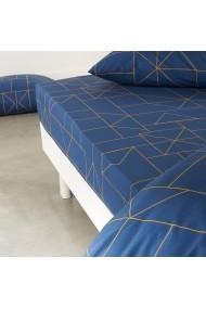 Cearsaf La Redoute Interieurs GBX634 160x200 cm bleumarin