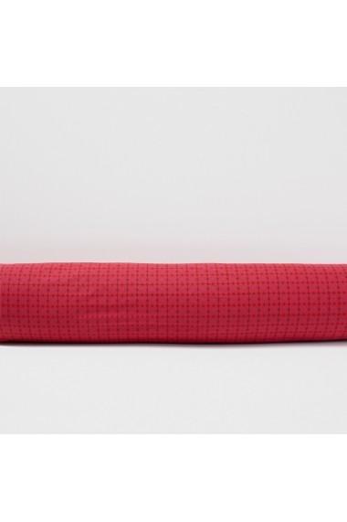 Fata de perna La Redoute Interieurs GBZ552 50x70 cm rosu - els