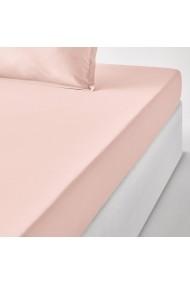 Cearsaf La Redoute Interieurs GCH047 140x190 cm roz