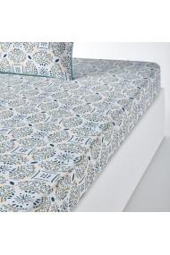 Cearsaf La Redoute Interieurs GDK900 160x200 cm albastru