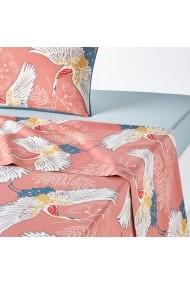 Cearsaf La Redoute Interieurs GDM329 180x290 cm roz