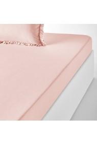Cearsaf La Redoute Interieurs GDN491 90x190 cm roz