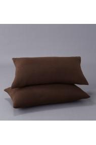 Set 2 fete de perna La Redoute Interieurs BGO065 50x30 cm maro