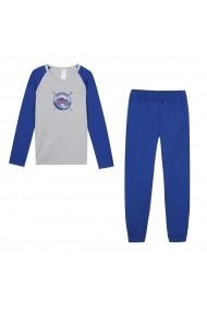 Pijama DIM GGV886 albastru
