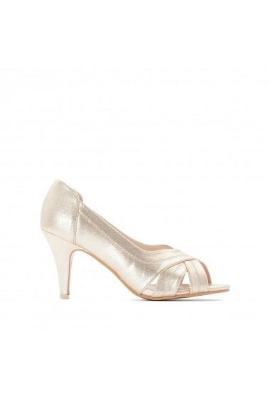 Pantofi cu toc CASTALUNA GFY119 auriu