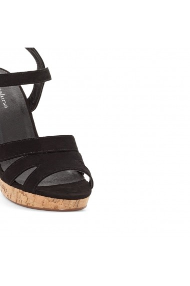 Sandale cu toc CASTALUNA GEJ549 negru - els