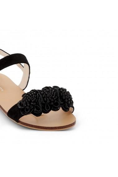 Sandale plate CASTALUNA GEN493 negru