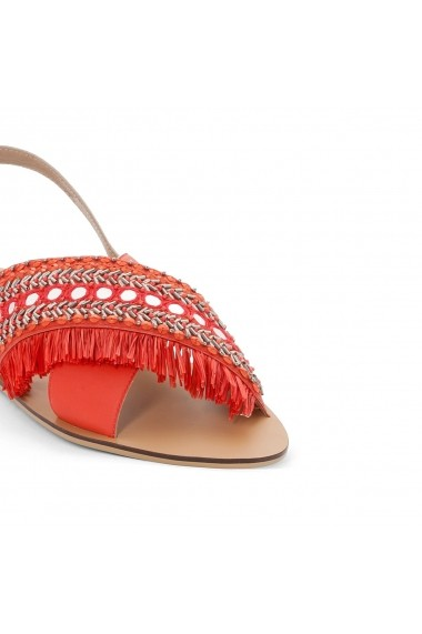 Sandale plate CASTALUNA GEV685-red Rosu