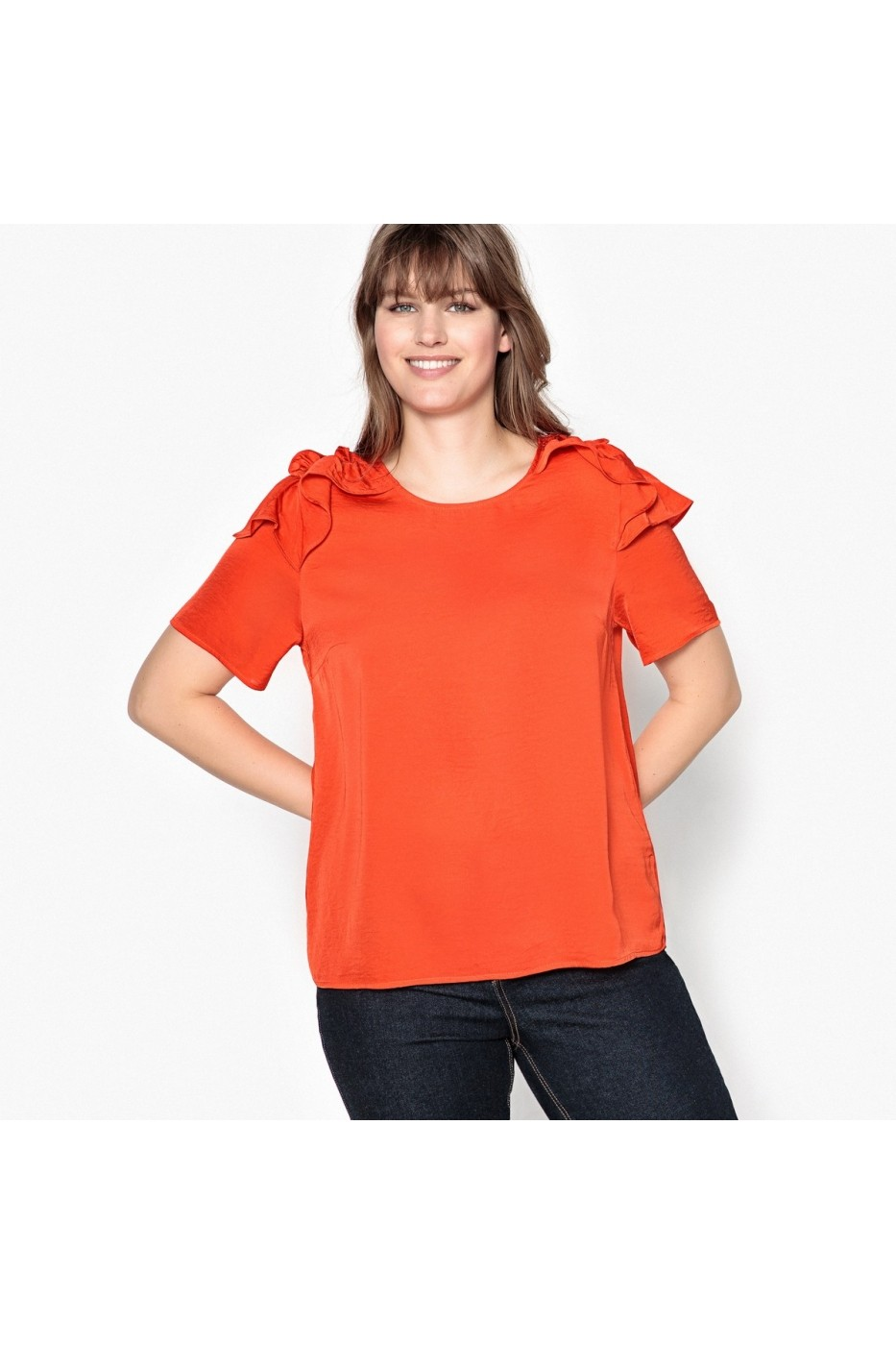 582751725b7 Блуза CASTALUNA LRD-GES847-orange оранжево - FashionUP!