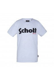 Tricou SCHOTT GHC889 alb
