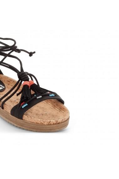 Sandale plate COOLWAY GDC141 negru