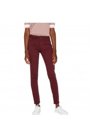 Pantaloni ESPRIT GHA057 bordo