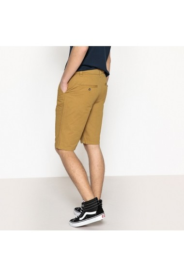 Pantaloni scurti La Redoute Collections GEK631 maro