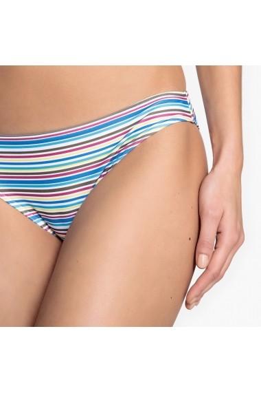 Slip de baie La Redoute Collections GED823-khaki-blue_stripes Kaki