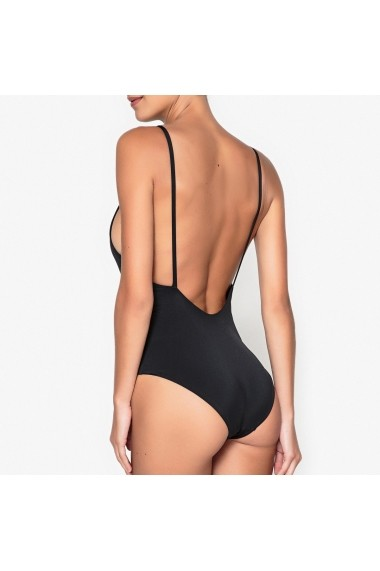Costum de baie intreg La Redoute Collections GEP416-black Negru