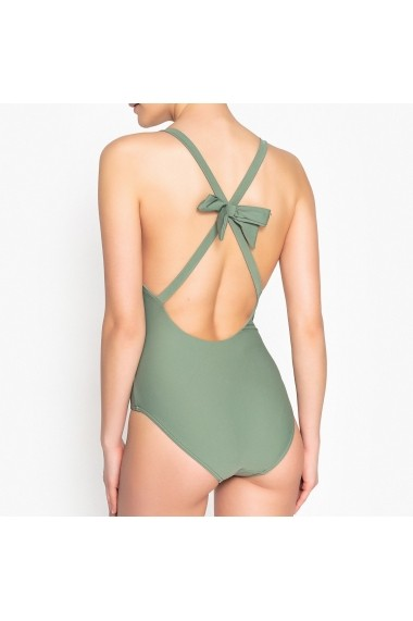 Costum de baie intreg La Redoute Collections GEU800-green Verde