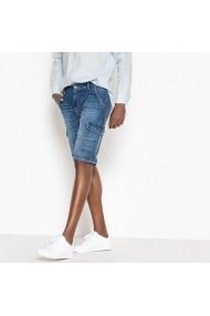 Pantaloni scurti La Redoute Collections GEZ267 albastru