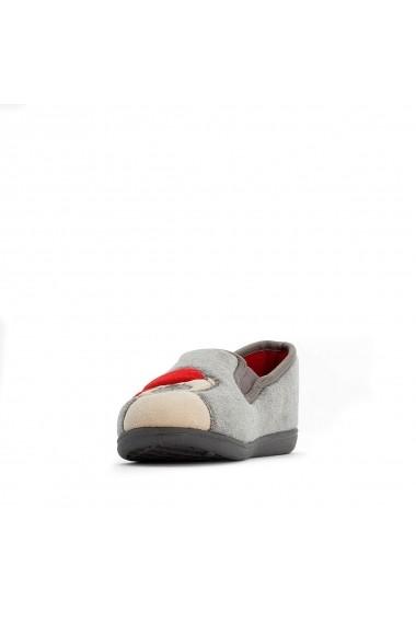 Papuci de casa La Redoute Collections GGS929 gri