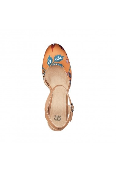 Pantofi cu toc La Redoute Collections GEH477 multicolor