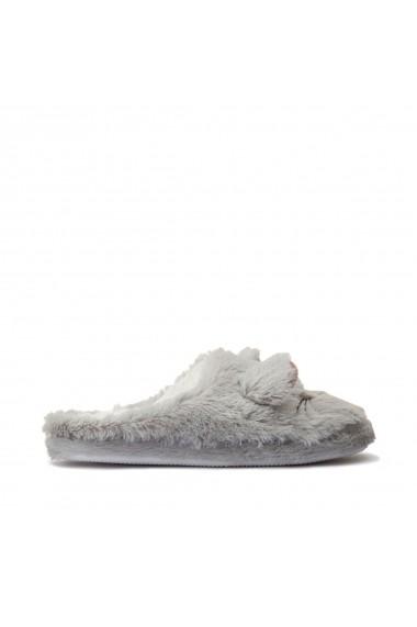 Papuci de casa La Redoute Collections GGX442 gri