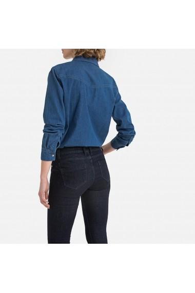 Camasa din denim La Redoute Collections GGM982 albastru