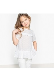 Bluza La Redoute Collections GEE969 alb