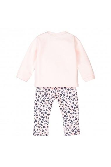 Set bluza si pantaloni La Redoute Collections GGG611 roz