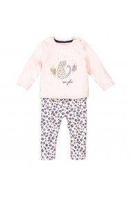 Set bluza si pantaloni La Redoute Collections GGG611 roz