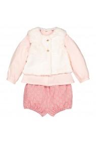 Set pantaloni scurti, bluza si vesta La Redoute Collections GGG707 roz