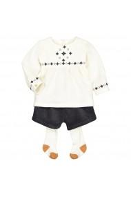 Set bluza, pantaloni si dres La Redoute Collections GGN258 alb