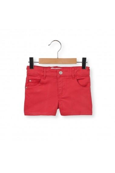 Pantaloni scurti La Redoute Collections GEC485 rosu
