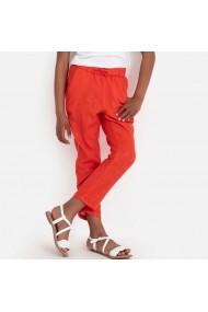 Pantaloni La Redoute Collections GFT770 portocaliu